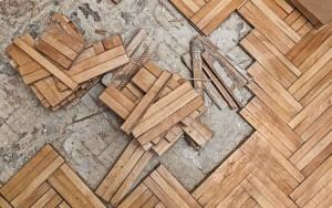 Engineered Glued Down Floor Removal